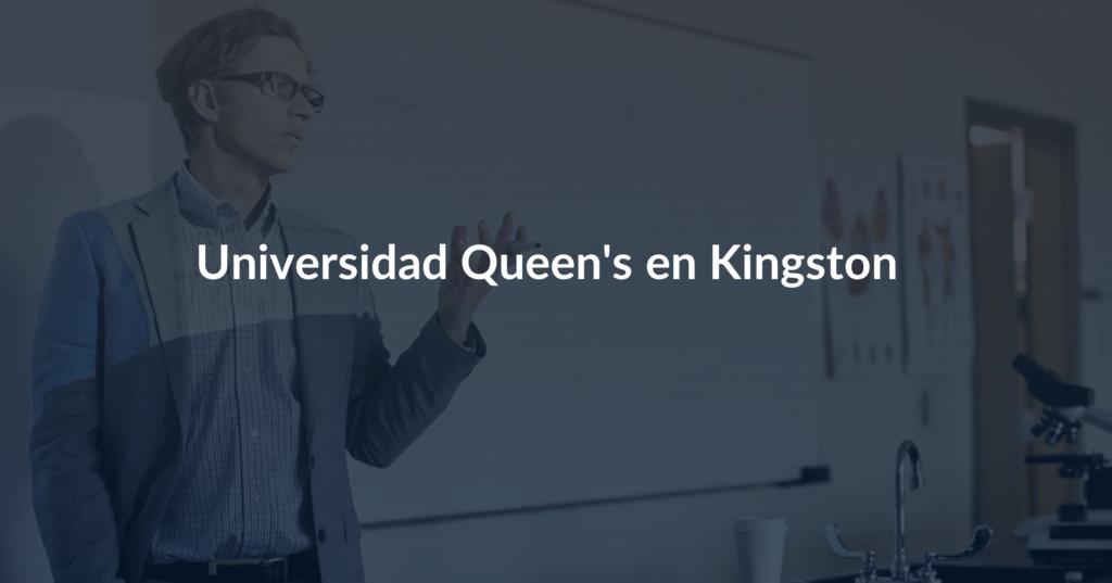 Universidad Queen's en Kingston