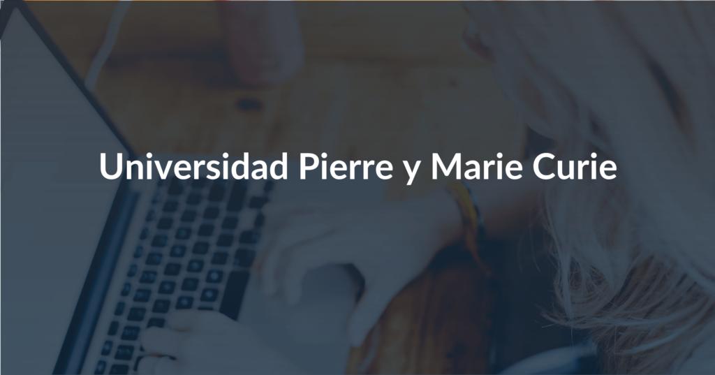 Pierre y Marie Curie Universidad